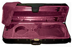 4/4 Maestro model violin case, oblong