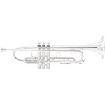 King 2055S Silver Flair Step-Up Bb Trumpet