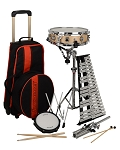 Ludwig LE2483RBR Educational Drum & Bells Combo Kit