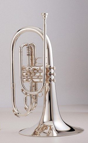 King 1121SP Ultimate Marching Mellophone