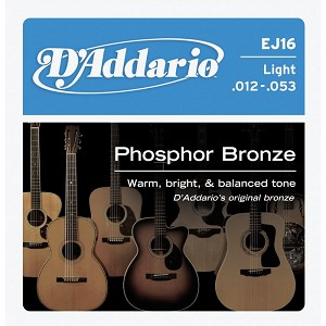 String, D'Add, Acous Guitar PhosBrz Lite