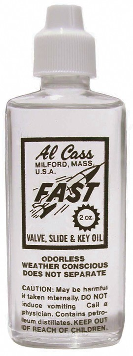 Valve/Slide/Key Oil, Al Cass,2 Oz