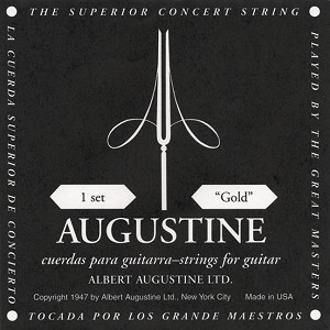 GuitarString,Classic Gold Label Set Augstn