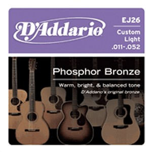 String, D'Add,Acous Guitar PhosBrz CustLite