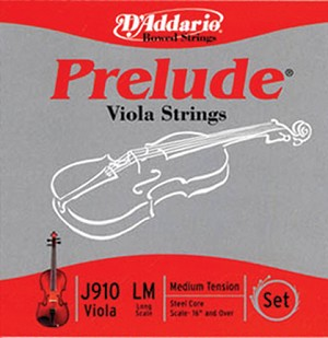 "Strings, Viola Set 16+"" Prelude"