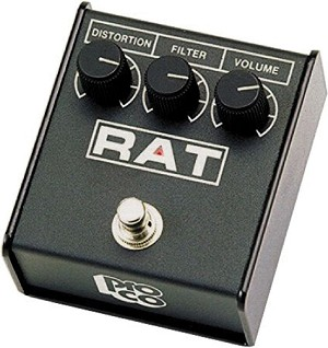 RAT2 Distortion pedal