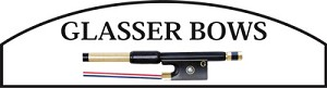 Glasser Bass Bow CG German 3/4